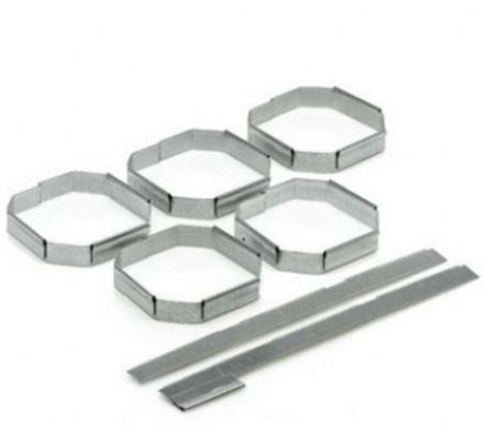 RTA 5 Galvanised Steel Clips Joining System